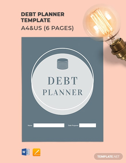 Debt Planner Template