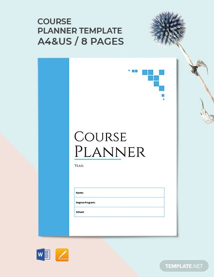 Course Planner Template