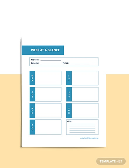 Basic Academic Planner Download