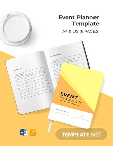 Event Planner Template