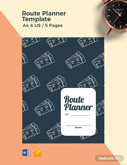 Route Planner Template