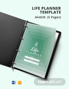 Life Planner Template