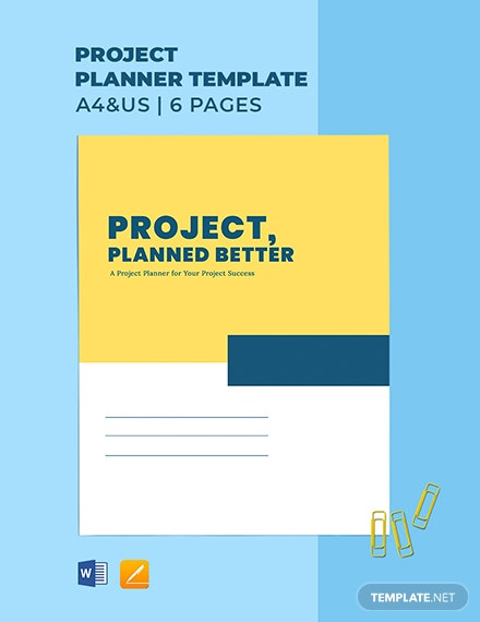 Project Planner Template