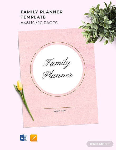 Family Planner Template