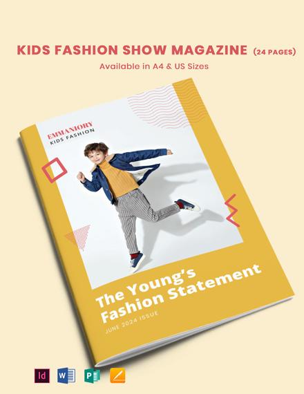 Kids Fashion Show Template