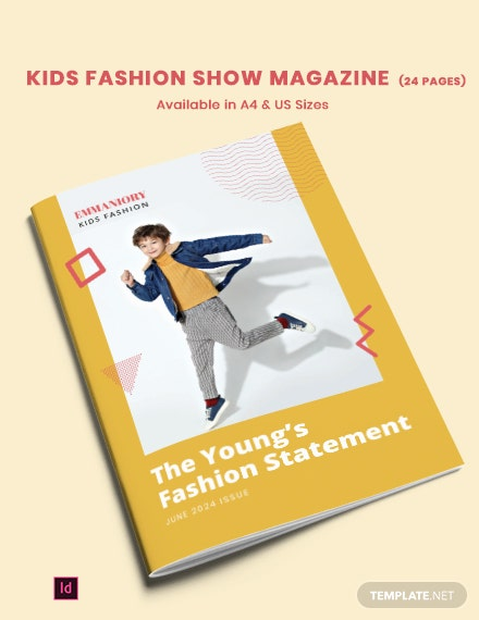 Kids Fashion Show Template