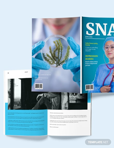 Sample Medical Health Magazine