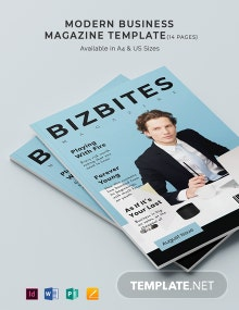 Simple Business Magazine Template