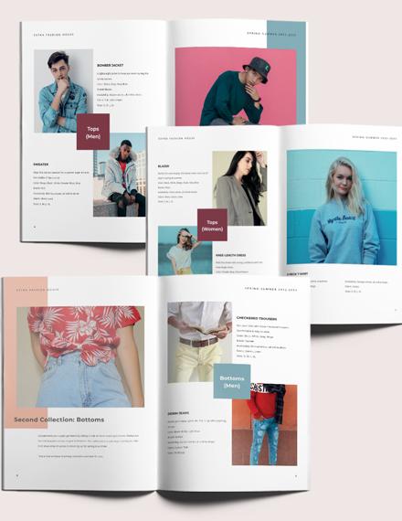 Minimal Fashion Lookbook Download