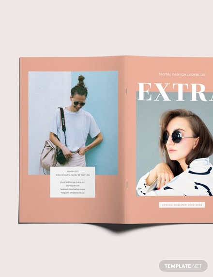 Sample Minimal Fashion Lookbook