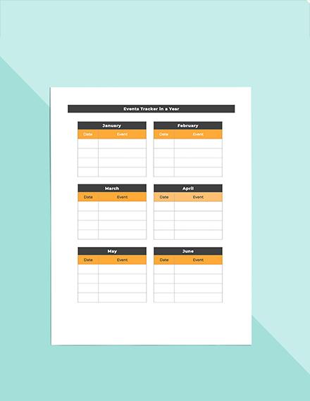 Media Planner Events Tracker