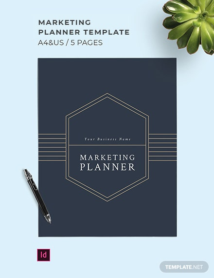 Marketing Planner Template