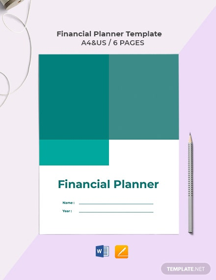 Financial Planner Template