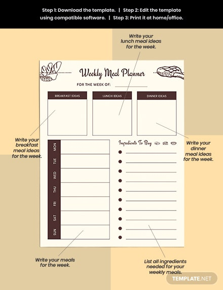Meal Planner Example