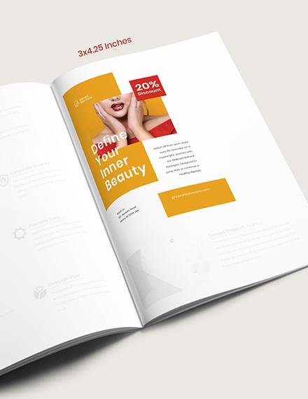 Editable Magazine Ads Template