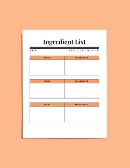 Weekly meal planner download