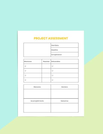 Project School Planner Editable