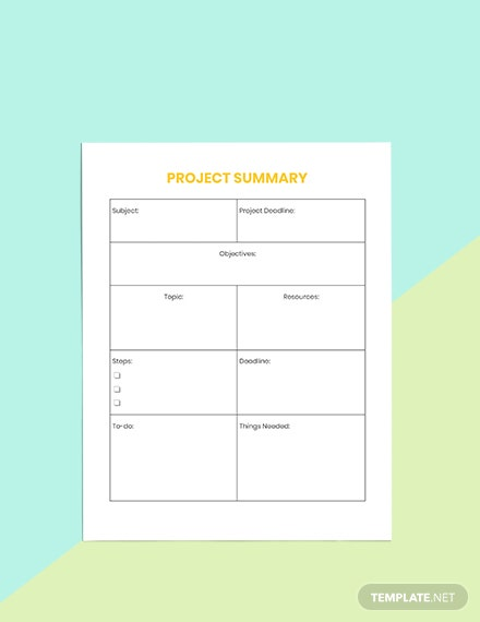 Project School Planner Printable