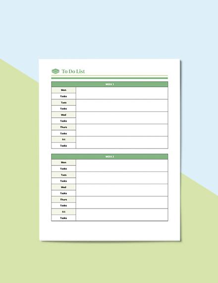 Homework School Planner Format