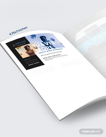 Editable Travel Magazine Ads Template [Free PSD] - InDesign
