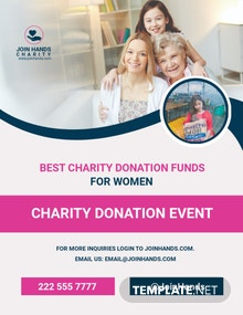 Free Women's Day Out Cancer Flyer Template
