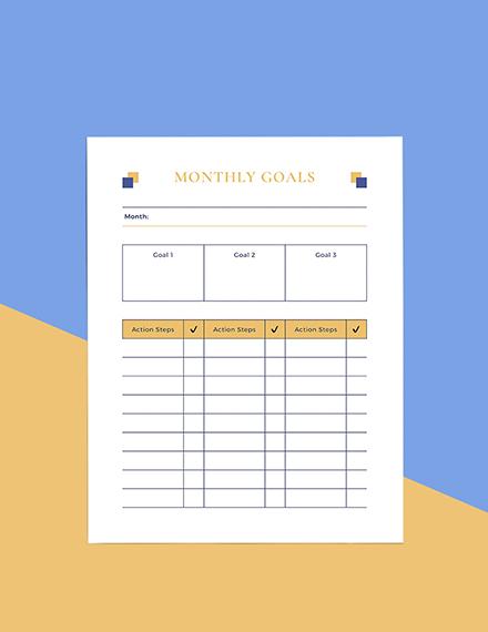 Sample Simple School Planner