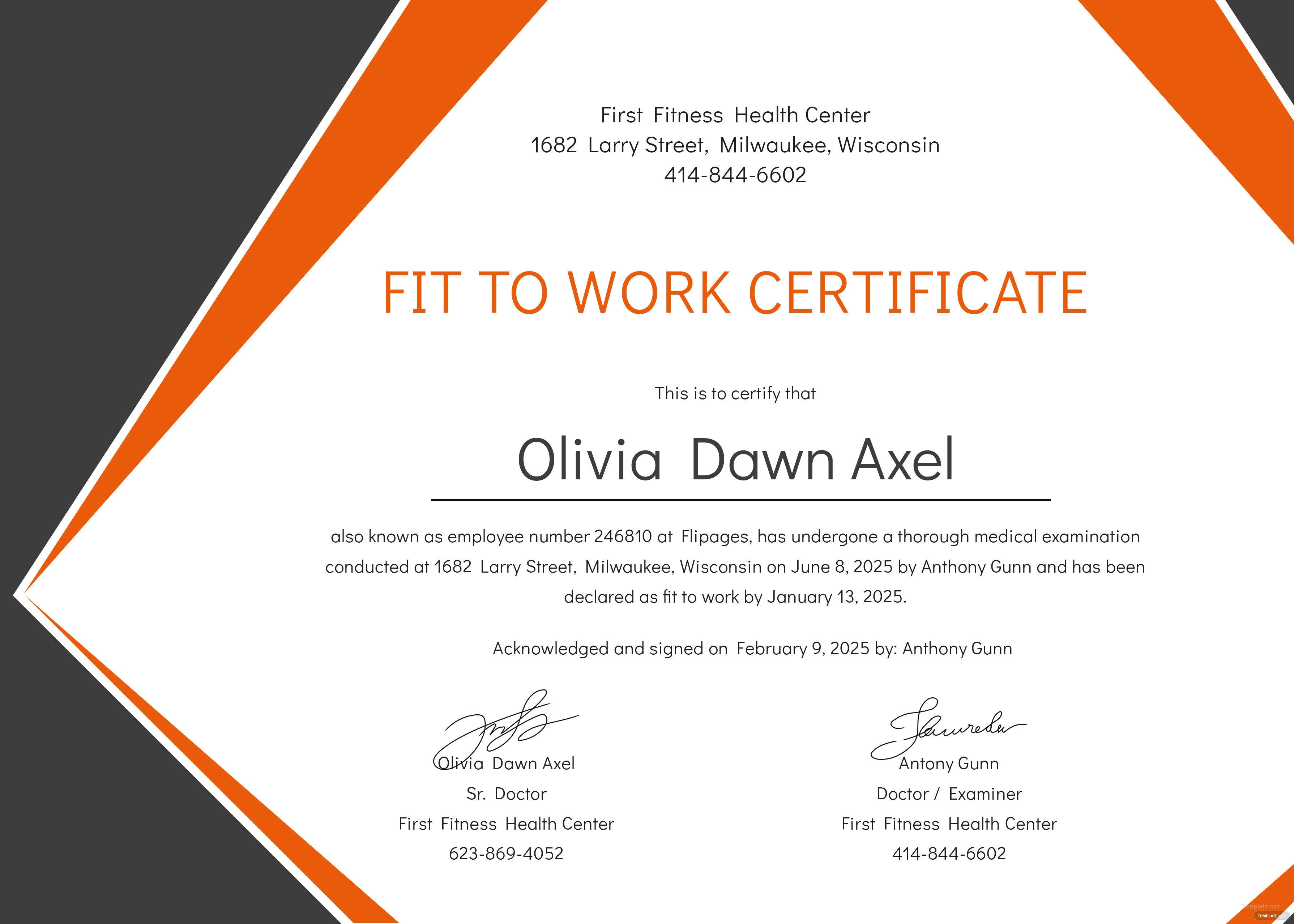 Medical fitness certificate format in adobe photoshop illustrator medical fitness certificate format yelopaper Choice Image