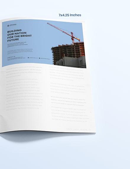 Building Magazine Ads Format