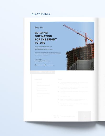 Building Magazine Ads Template