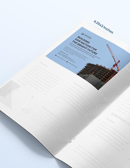 Sample Building Magazine Ads