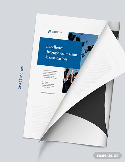 Education Magazine Ads Format