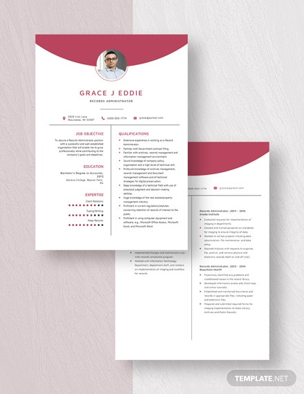 Records Administrator Resume Download