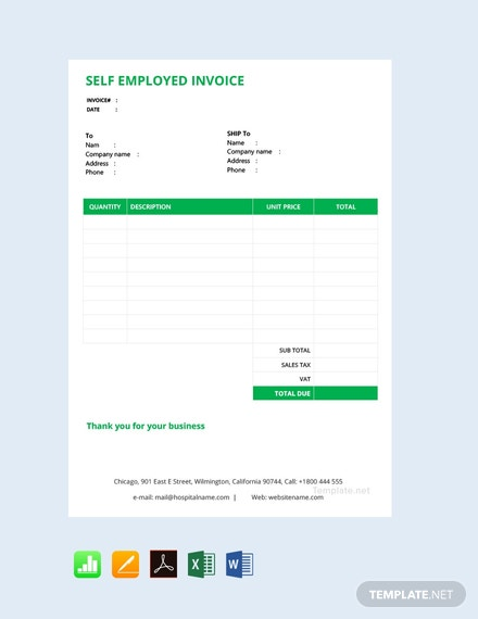 75 Free Invoice Templates In Apple Pages Templatenet