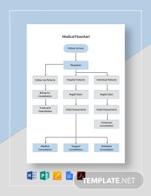 Medical Flowchart Template