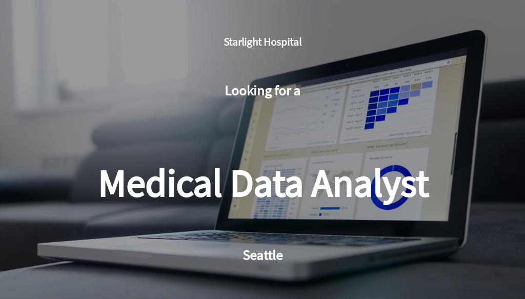 Free Medical Data Analyst Job Ad/Description Template.jpe