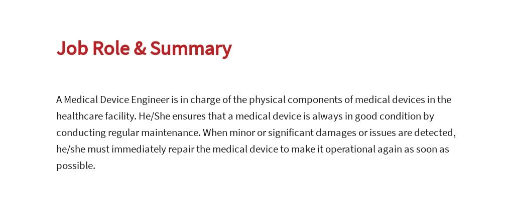 Free Medical Device Engineer Job Ad/Description Template 2.jpe