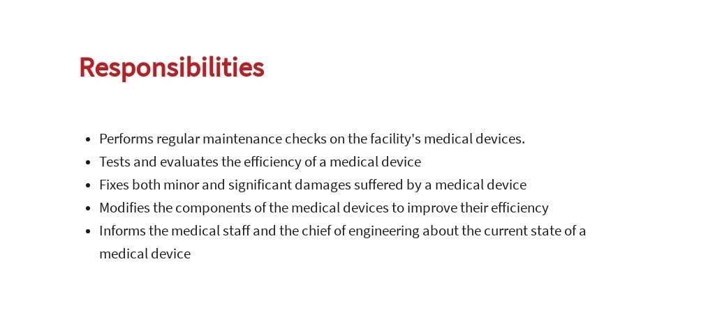 Free Medical Device Engineer Job Ad/Description Template 3.jpe