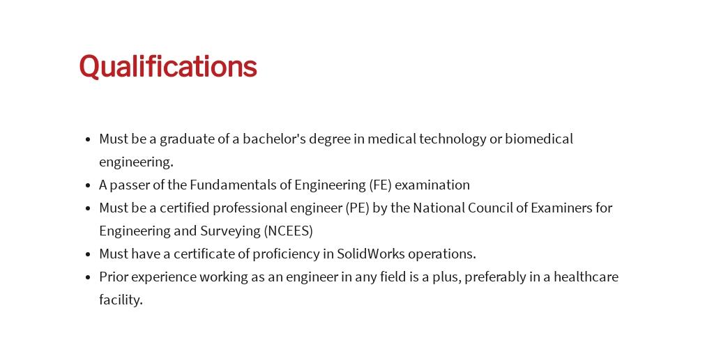 Free Medical Device Engineer Job Ad/Description Template 5.jpe