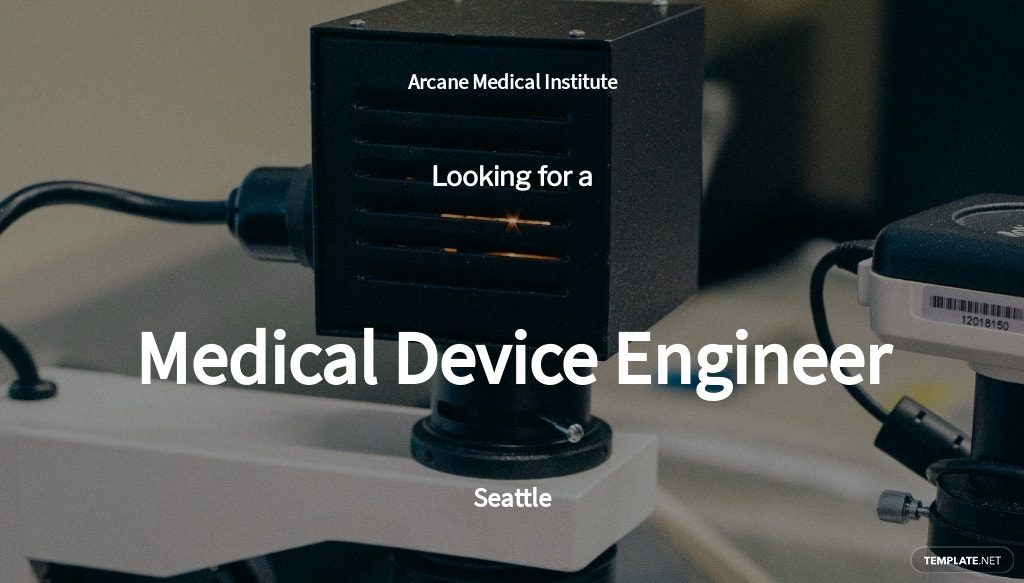 Free Medical Device Engineer Job Ad/Description Template.jpe