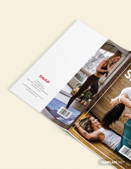 Sample Minimal Health Magazine