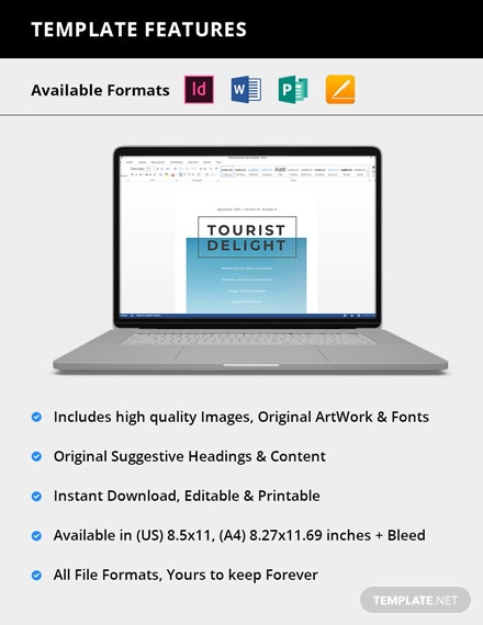 Simple Printable Travel Magazine