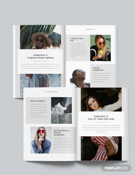 Minimal Photography Lookbook Download