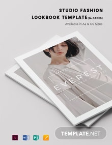 Studio Fashion Lookbook Template