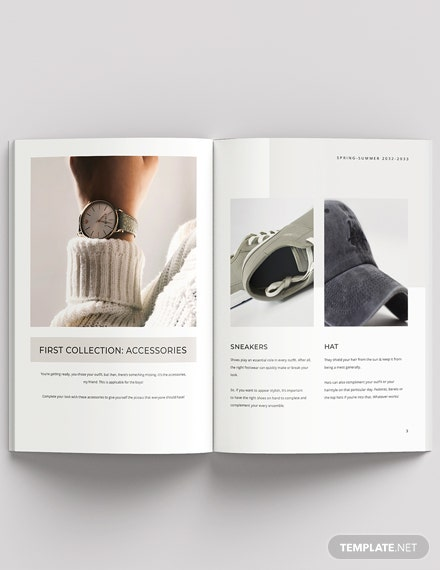 Studio Fashion Lookbook Template