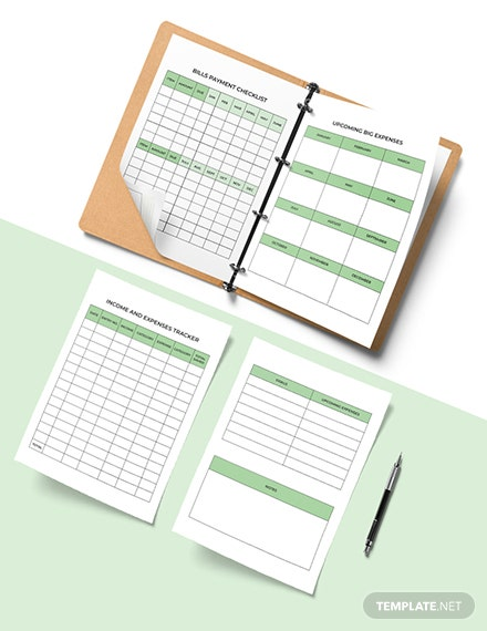 Personal Budget Planner Template sample