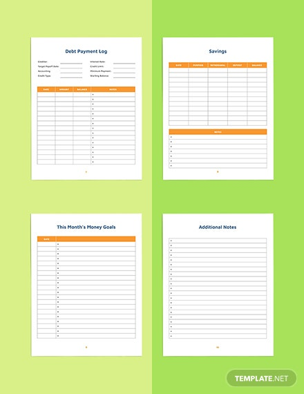 Blank Budget Planner Template Download
