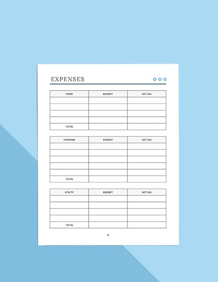 Basic Budget Planner Download