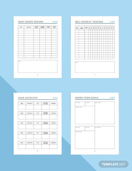 Basic Budget Planner Printable