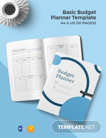Free Basic Budget Planner Template