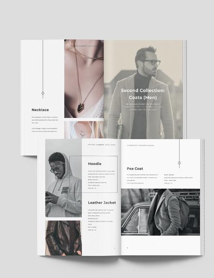 Modern Fashion Lookbook Download